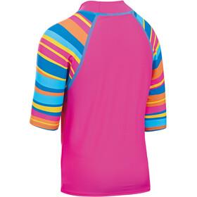 Zoggs Folk Tale Kortærmet T-shirt Børn pink/blå